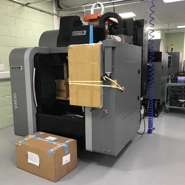Verus takes delivery of new Hurco CNC milling machine