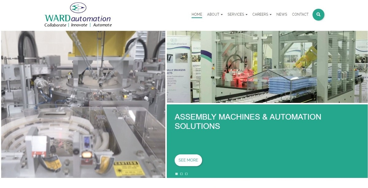 Ward Automation Launches New Website Featured