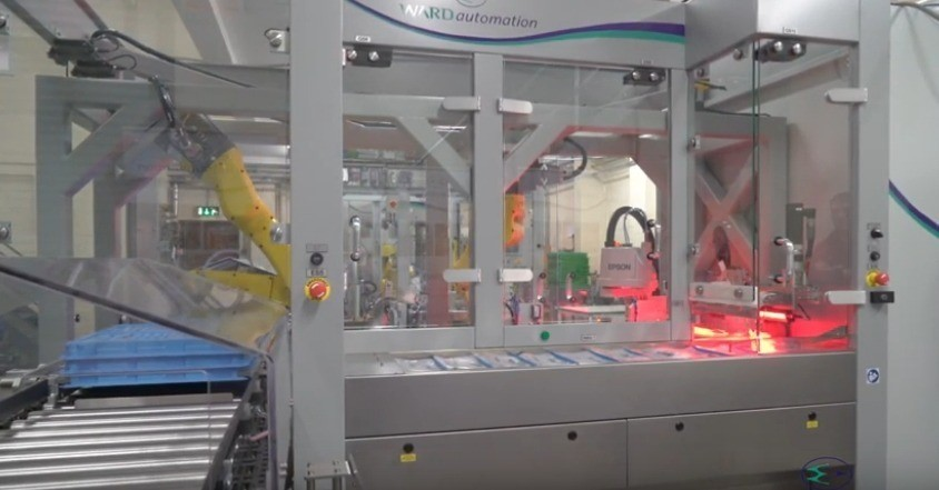 Using Innovation and Creativity to Automate a Complex Medical Bag Folding Operation