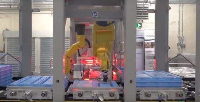 Ward Automation Bag Folding Machine