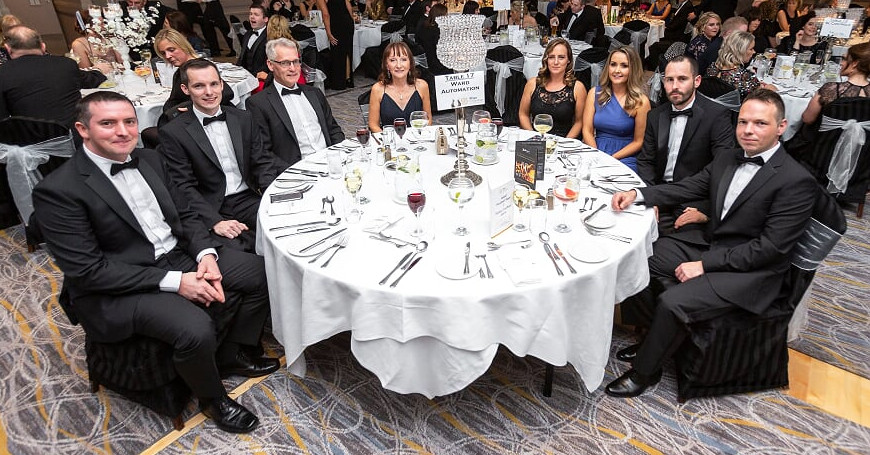 The Ward Automation team at the 2019 Sligo Chamber Excellence Awards
