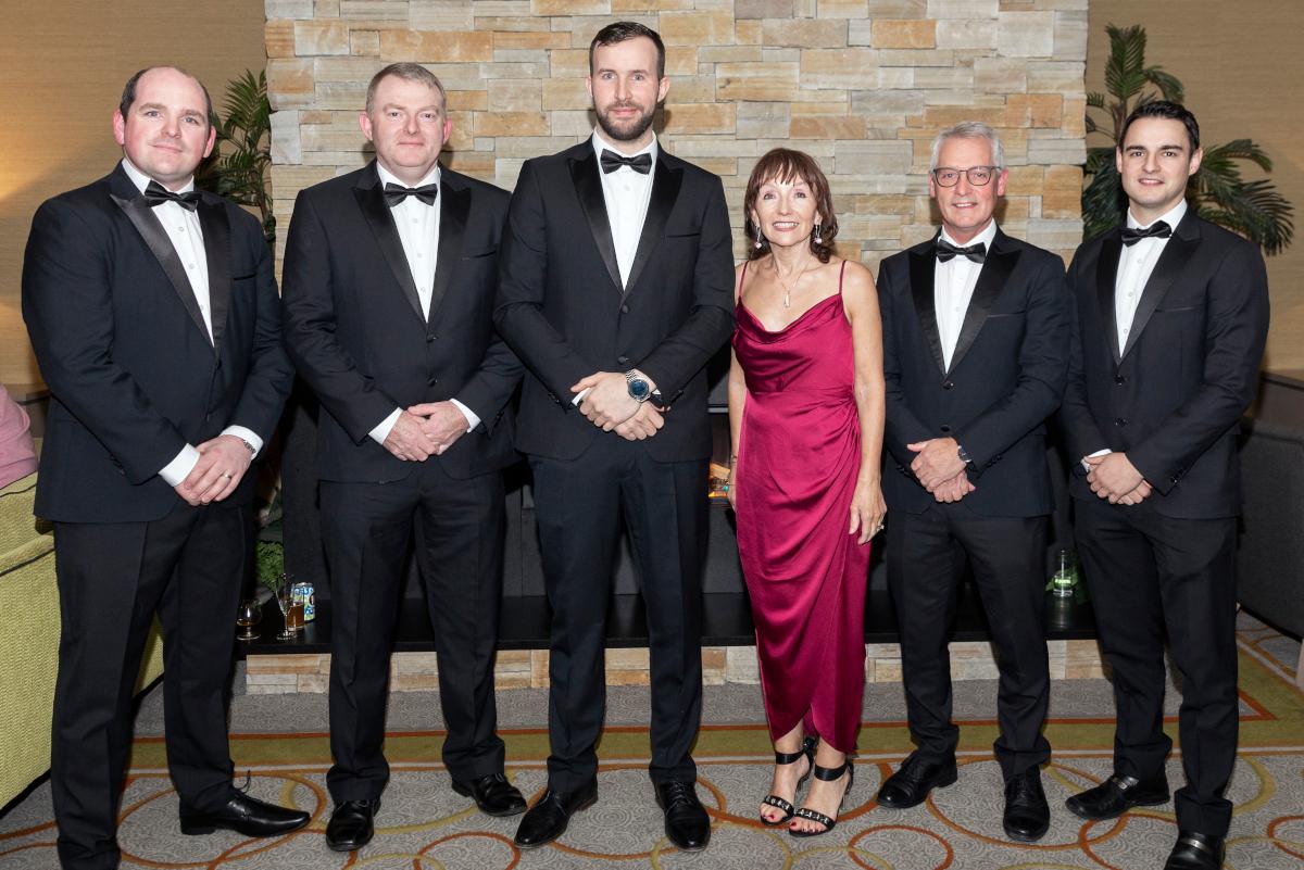 Ward Automation team at the Sligo Chamber Excellence Awards